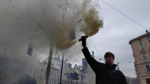 Редакцію львівського видання штурмували фігуранти їхніх журналістських розслідувань