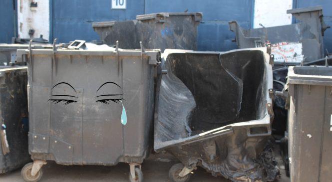 На Харківщині підприємець загубив десятки контейнерів для сміття, які йому віддала на зберігання селищна рада