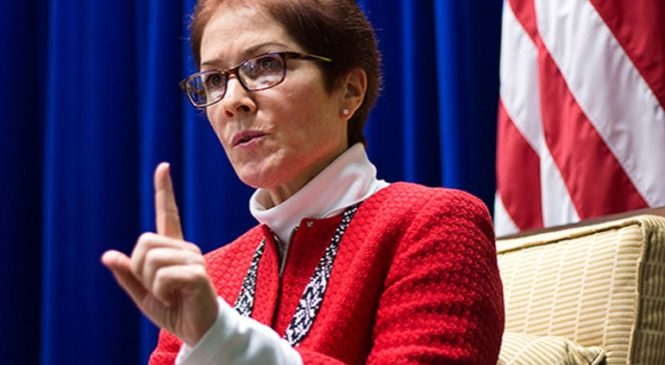 Посол США дала жорсткі поради Україні щодо посилення боротьби з корупцією