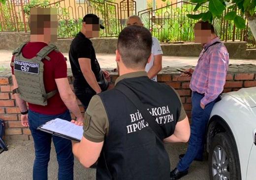 Воєнком з Одещини виявився систематичним хабарником